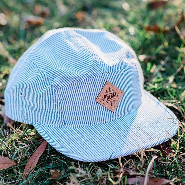 pherm-hat-blue-seersucker