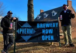 Pherm Sign Brewery Now Open